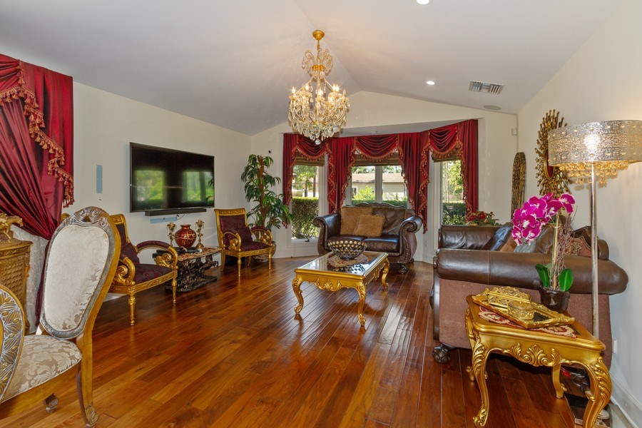 Real Estate Photography - 4381 3rd Ave Northwest, Naples, FL, 34119 - Family Room