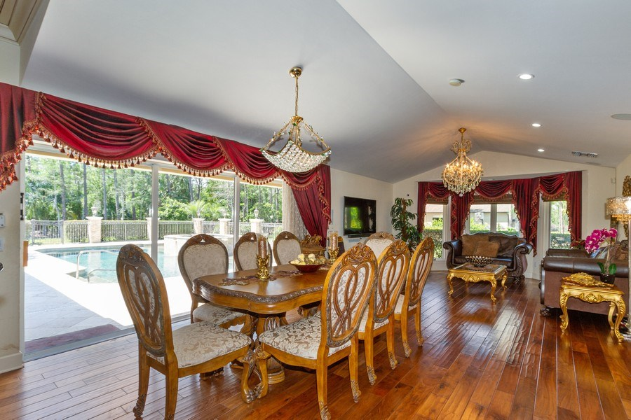 Real Estate Photography - 4381 3rd Ave Northwest, Naples, FL, 34119 - Breakfast Area