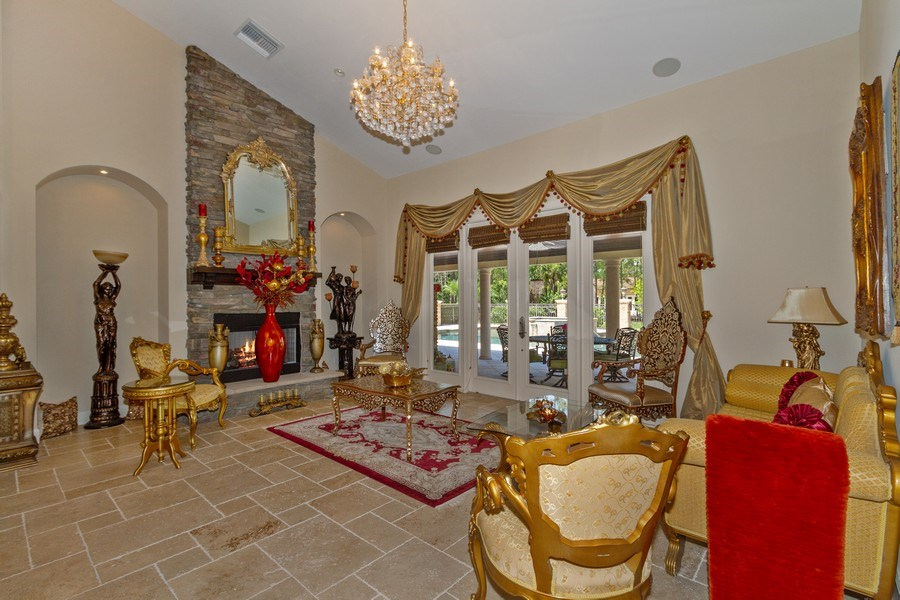 Real Estate Photography - 4381 3rd Ave Northwest, Naples, FL, 34119 - Den