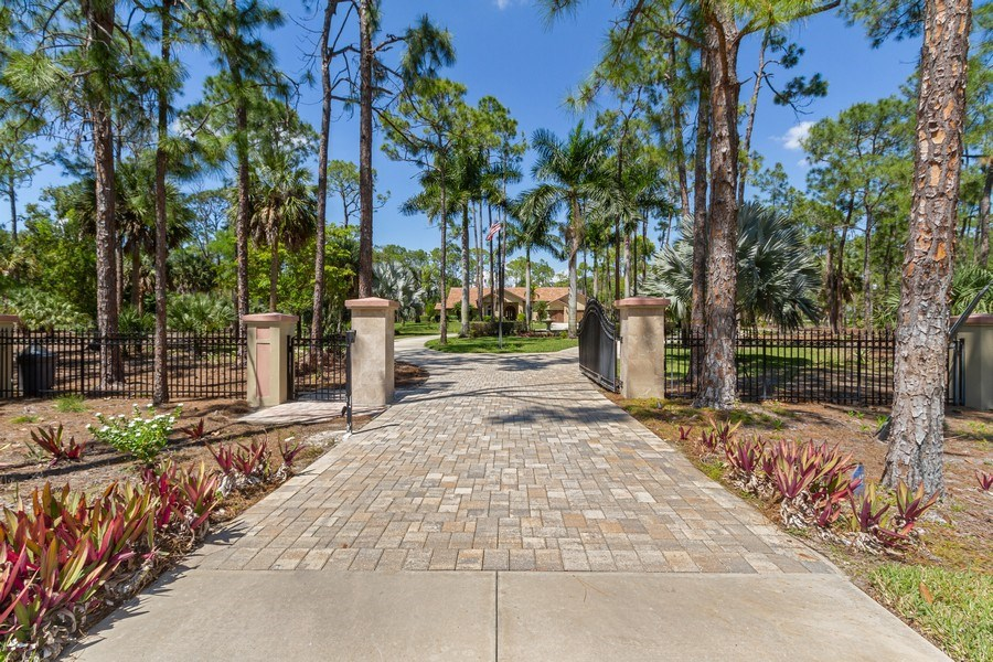 Real Estate Photography - 4381 3rd Ave Northwest, Naples, FL, 34119 - Front View