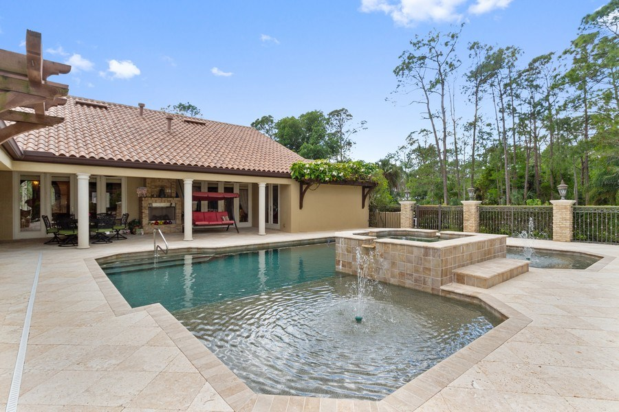 Real Estate Photography - 4381 3rd Ave Northwest, Naples, FL, 34119 - Rear View