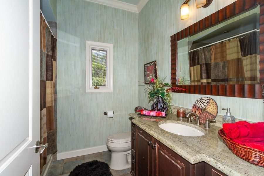 Real Estate Photography - 4381 3rd Ave Northwest, Naples, FL, 34119 - Bathroom