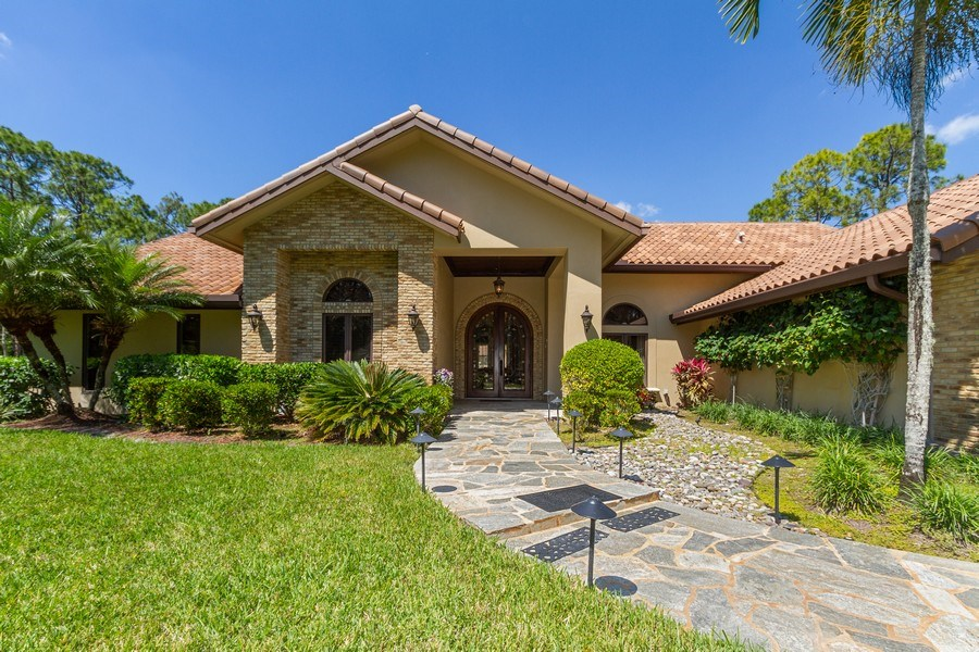 Real Estate Photography - 4381 3rd Ave Northwest, Naples, FL, 34119 - Entryway