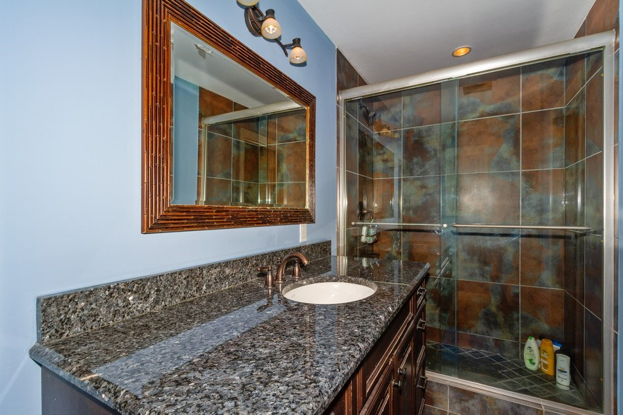 Real Estate Photography - 4381 3rd Ave Northwest, Naples, FL, 34119 - 2nd Bathroom