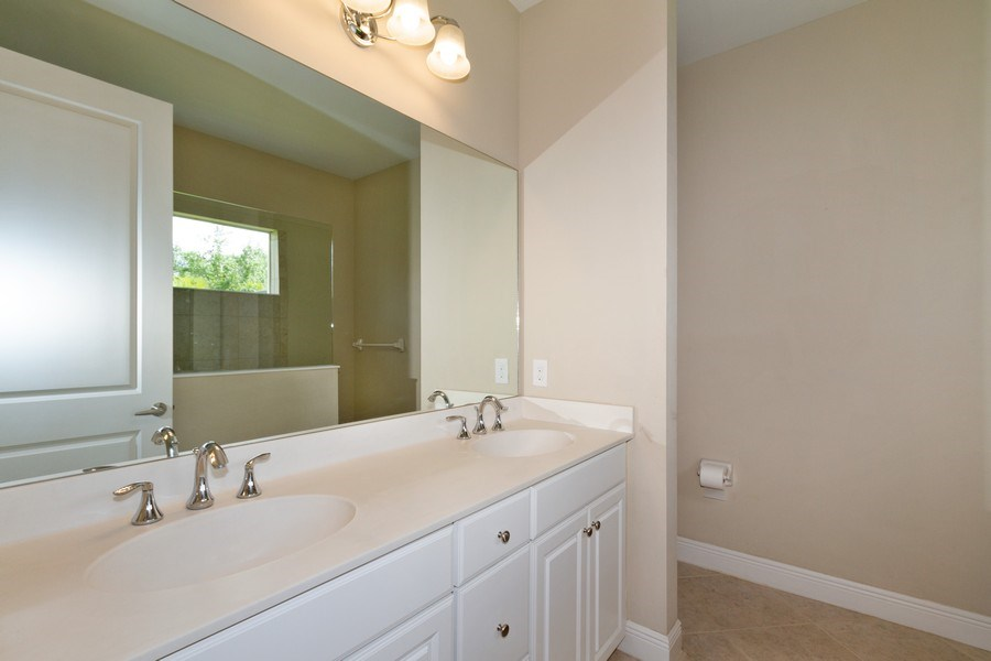 Real Estate Photography - 3735 Canopy Cir, Naples, FL, 34120 - Master Bathroom