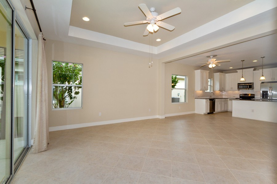 Real Estate Photography - 3735 Canopy Cir, Naples, FL, 34120 - Living Room