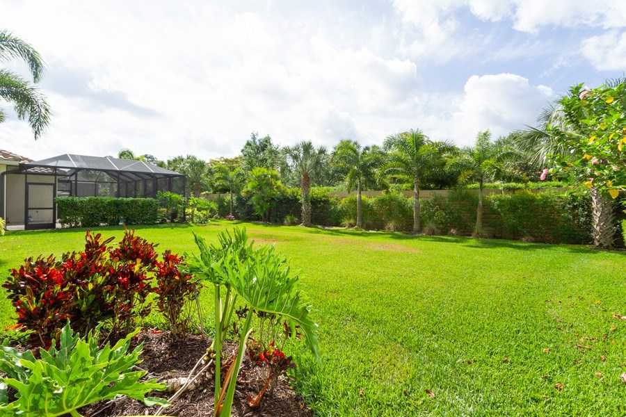 Real Estate Photography - 3735 Canopy Cir, Naples, FL, 34120 - Back Yard