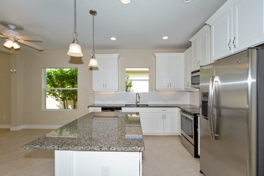 Real Estate Photography - 3735 Canopy Cir, Naples, FL, 34120 - Kitchen