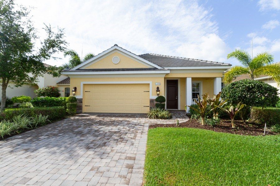 Real Estate Photography - 3735 Canopy Cir, Naples, FL, 34120 - Front View