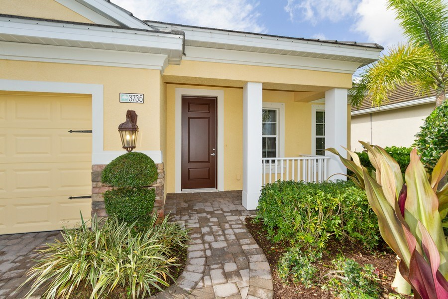 Real Estate Photography - 3735 Canopy Cir, Naples, FL, 34120 - Entryway