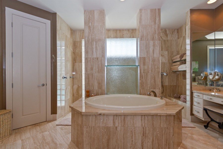 Real Estate Photography - 367 5Th Ave North, Naples, FL, 34102 - Master Bathroom