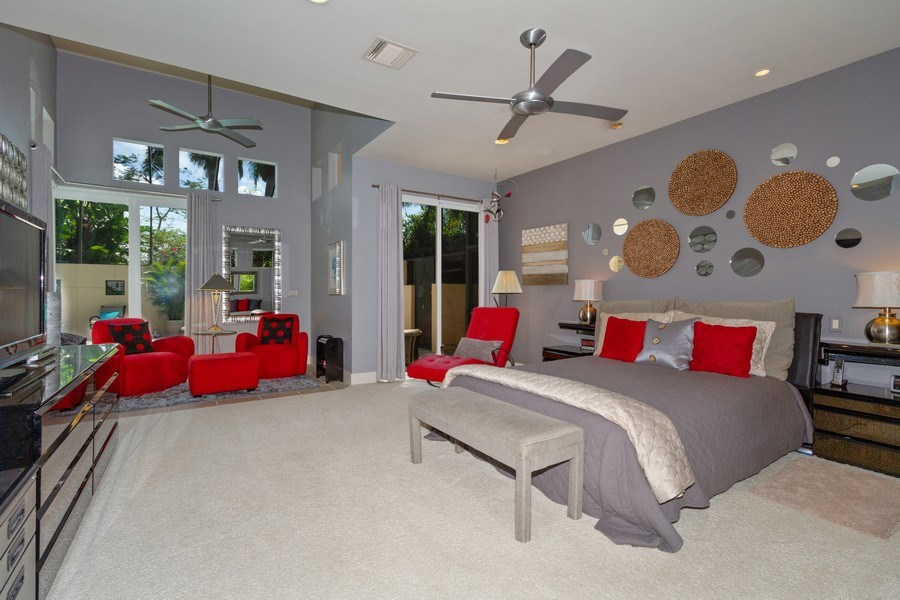 Real Estate Photography - 367 5Th Ave North, Naples, FL, 34102 - Master Bedroom