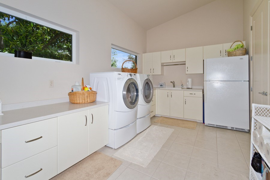 Real Estate Photography - 367 5Th Ave North, Naples, FL, 34102 - Laundry Room