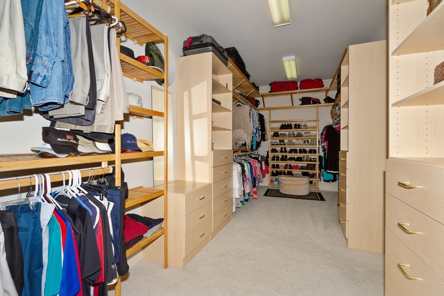 Real Estate Photography - 367 5Th Ave North, Naples, FL, 34102 - Master Bedroom Closet