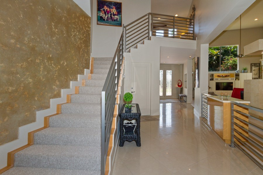 Real Estate Photography - 367 5Th Ave North, Naples, FL, 34102 - Staircase