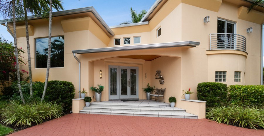 Real Estate Photography - 367 5Th Ave North, Naples, FL, 34102 - Entryway