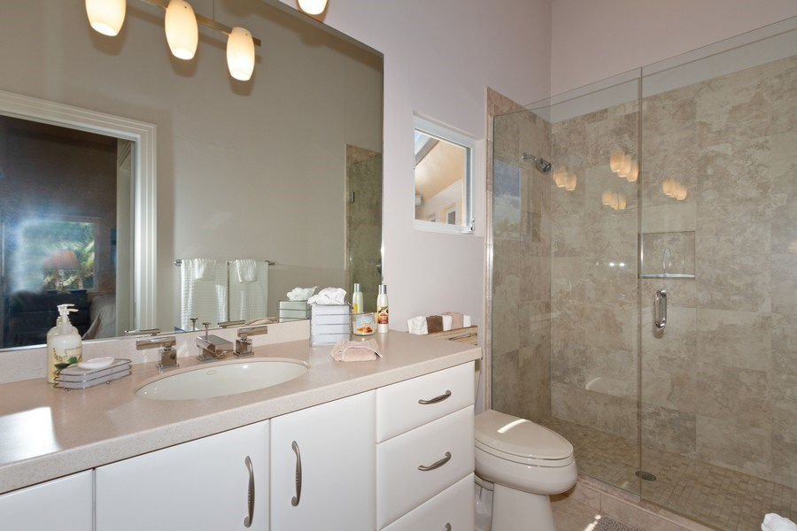 Real Estate Photography - 367 5Th Ave North, Naples, FL, 34102 - 2nd Bathroom
