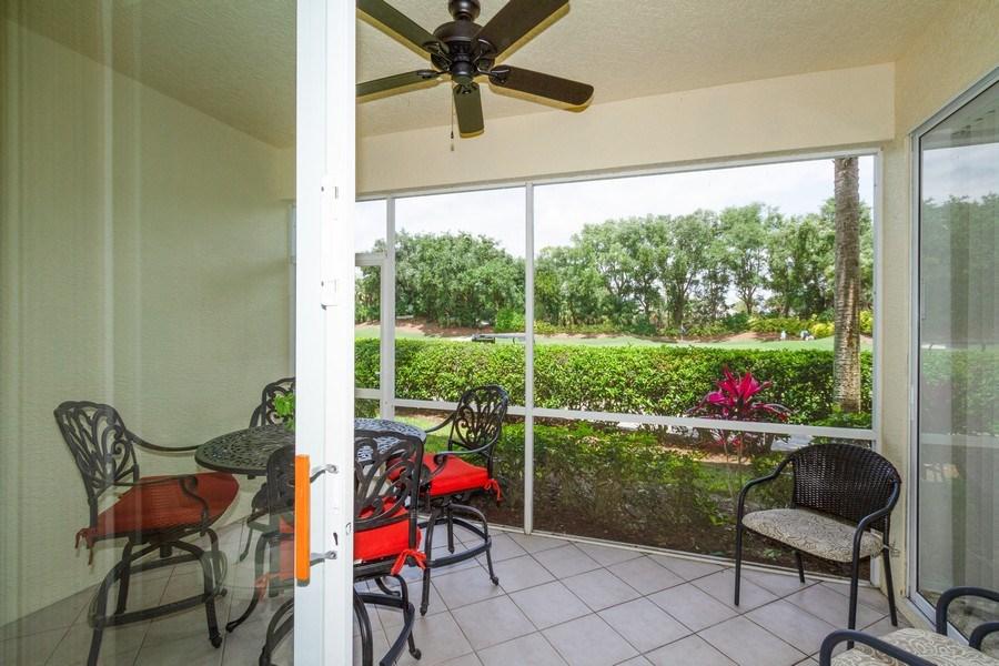 Real Estate Photography - 2345 Carrington Ct #102, Naples, FL, 34109 - Lanai