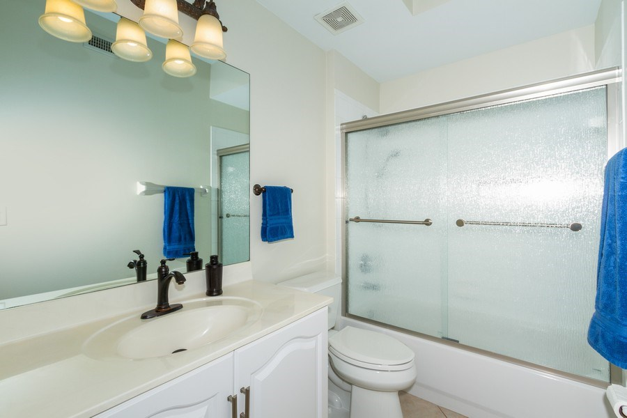Real Estate Photography - 2345 Carrington Ct #102, Naples, FL, 34109 - Bathroom