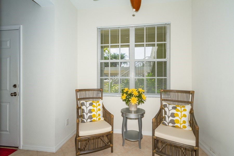 Real Estate Photography - 2345 Carrington Ct #102, Naples, FL, 34109 - Breakfast Nook