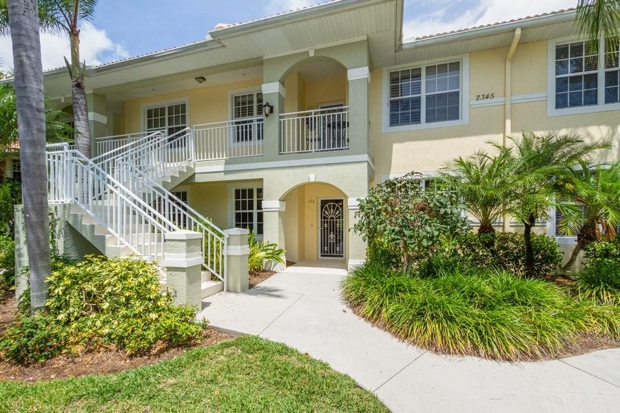 Real Estate Photography - 2345 Carrington Ct #102, Naples, FL, 34109 - Entryway