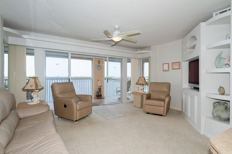 Real Estate Photography - 4895 Bonita Beach Rd, 504, Bonita Springs, FL, 34134 - Living Room