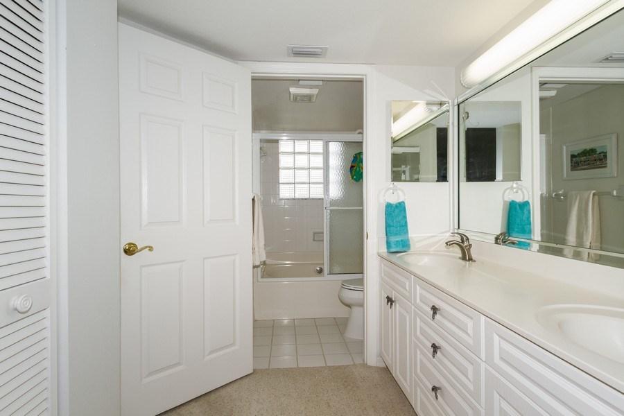 Real Estate Photography - 4895 Bonita Beach Rd, 504, Bonita Springs, FL, 34134 - Master Bathroom