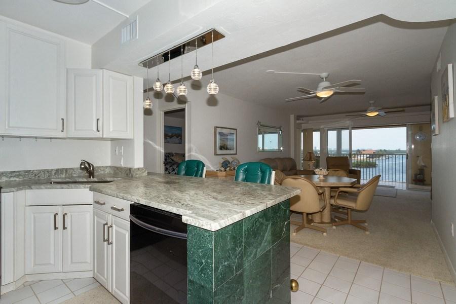 Real Estate Photography - 4895 Bonita Beach Rd, 504, Bonita Springs, FL, 34134 - Kitchen