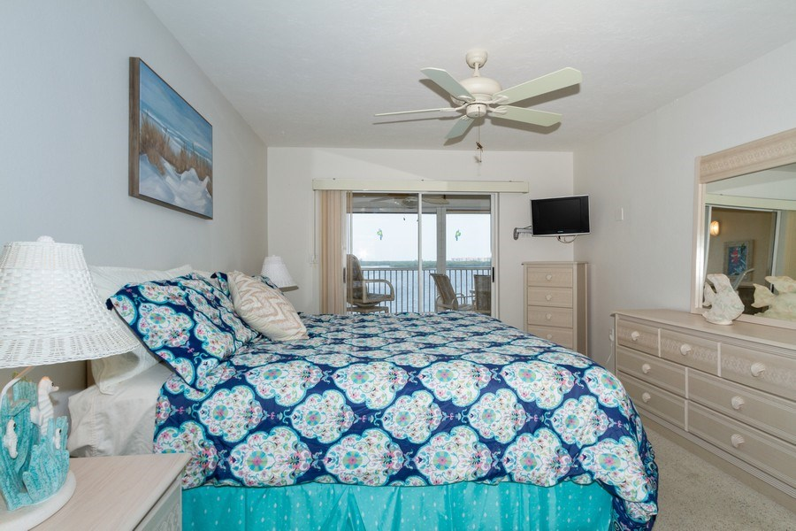 Real Estate Photography - 4895 Bonita Beach Rd, 504, Bonita Springs, FL, 34134 - Master Bedroom