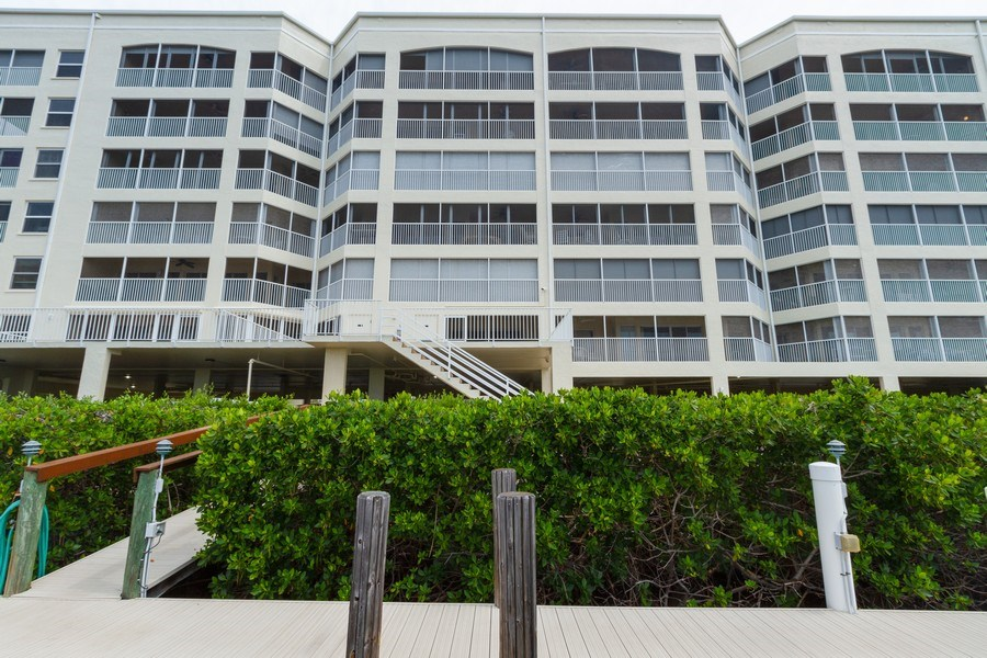 Real Estate Photography - 4895 Bonita Beach Rd, 504, Bonita Springs, FL, 34134 - Rear View