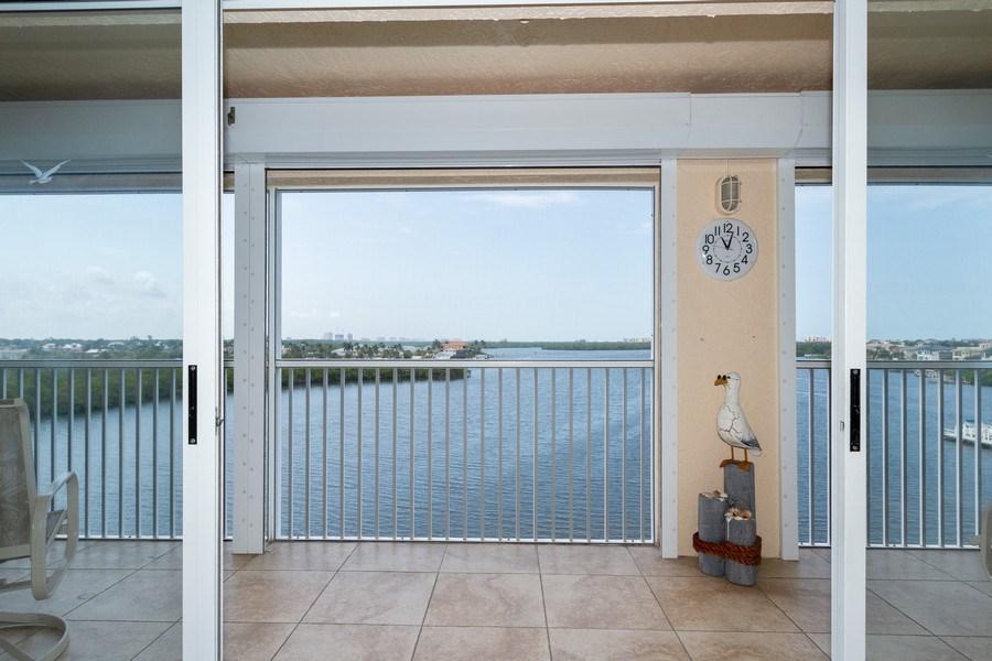 Real Estate Photography - 4895 Bonita Beach Rd, 504, Bonita Springs, FL, 34134 - Lanai
