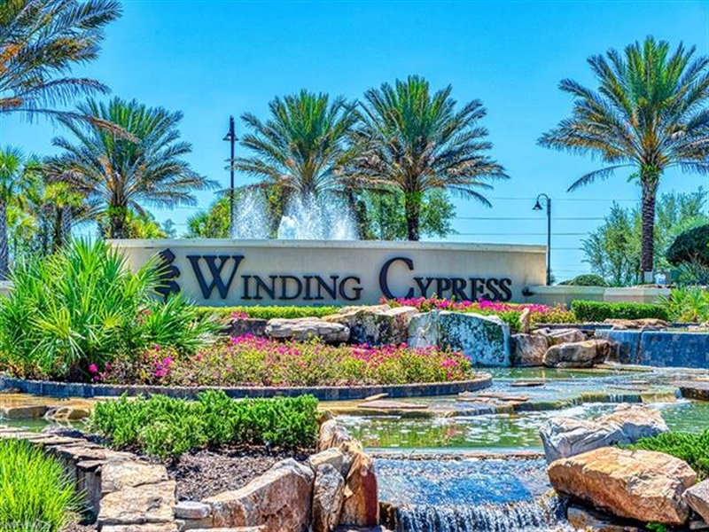 Real Estate Photography - 7644 Winding Cypress DR 7644, NAPLES, FL, 34114 - Location 1