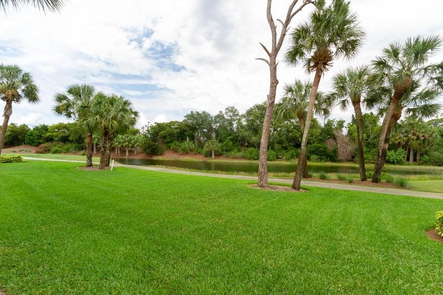 Real Estate Photography - 2130 Aberdeen Lane, #102, Naples, FL, 34109 - Golf Course