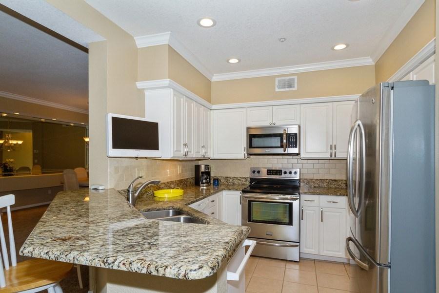 Real Estate Photography - 2130 Aberdeen Lane, #102, Naples, FL, 34109 - Kitchen