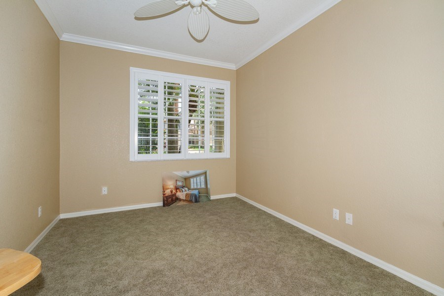 Real Estate Photography - 2130 Aberdeen Lane, #102, Naples, FL, 34109 - Bedroom
