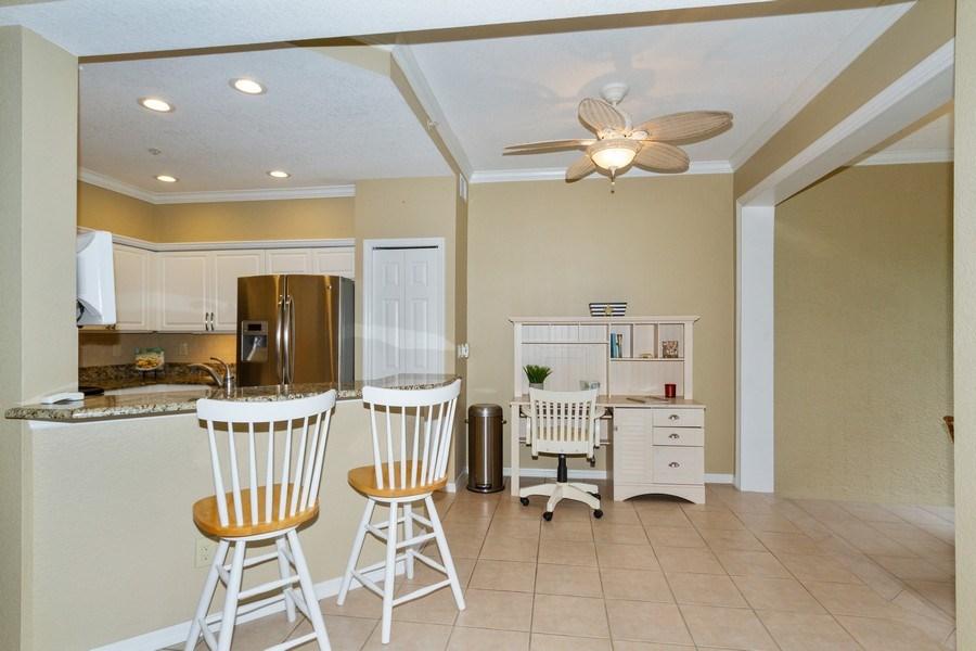 Real Estate Photography - 2130 Aberdeen Lane, #102, Naples, FL, 34109 - Kitchen / Breakfast Room