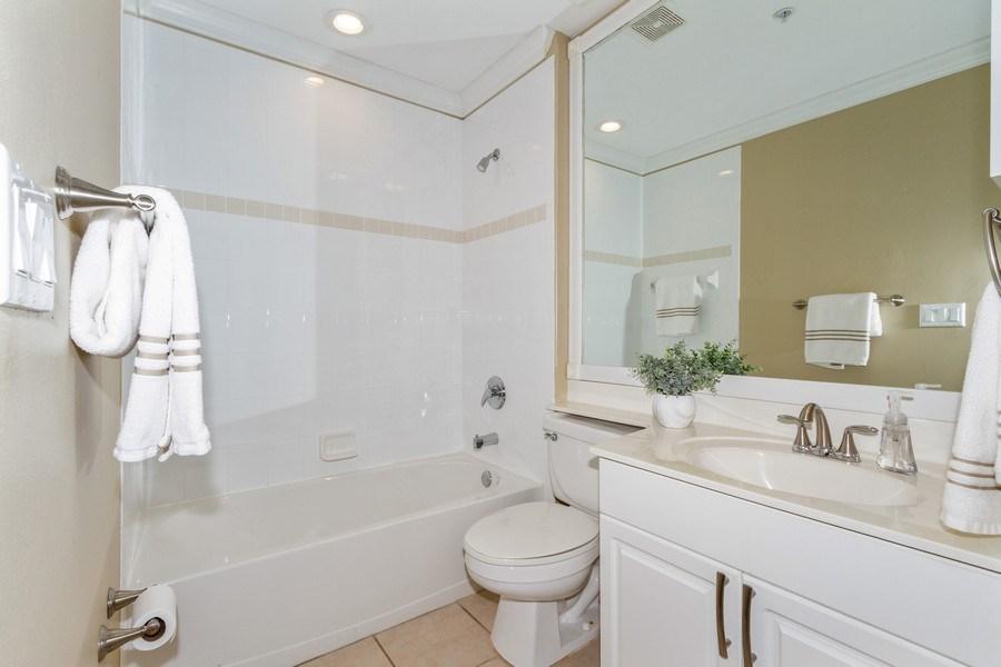 Real Estate Photography - 2130 Aberdeen Lane, #102, Naples, FL, 34109 - Bathroom