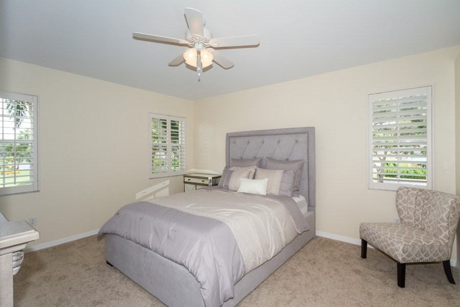 Real Estate Photography - 7416 Plumbago Bridge Rd, P-204, Naples, FL, 34109 - Master Bedroom