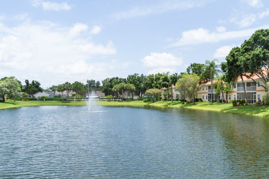 Real Estate Photography - 7416 Plumbago Bridge Rd, P-204, Naples, FL, 34109 - Lake