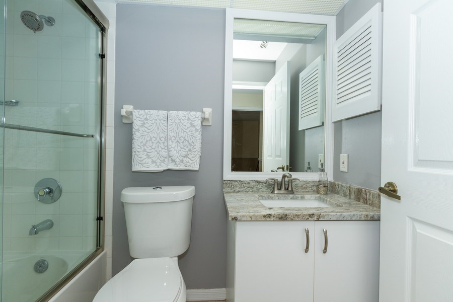 Real Estate Photography - 7416 Plumbago Bridge Rd, P-204, Naples, FL, 34109 - Bathroom