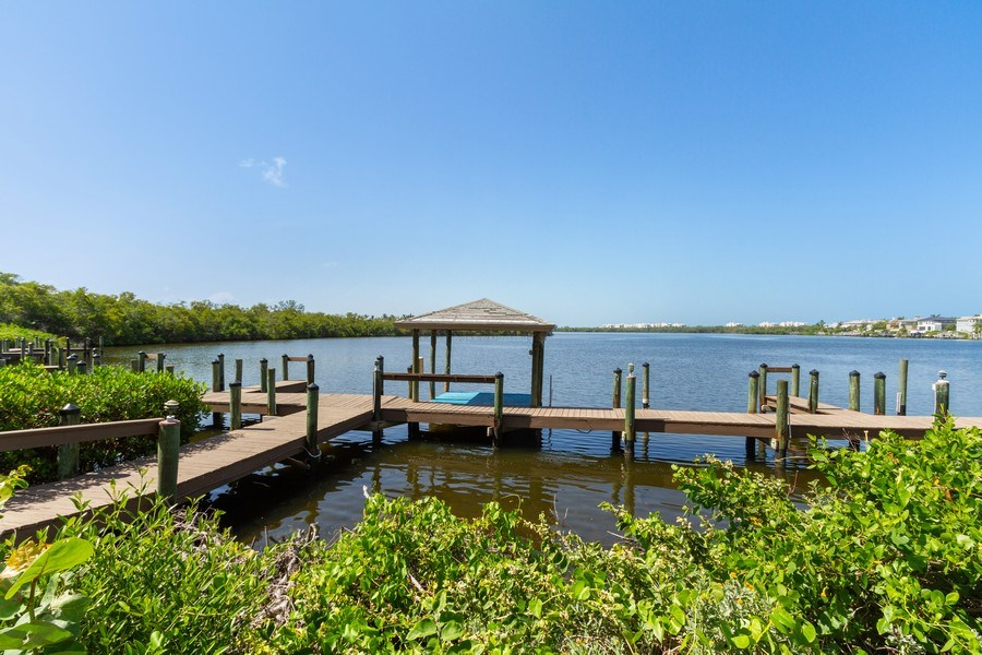 Real Estate Photography - 2835 Bonita Beach Rd, Bonita Springs, FL, 34134 - Dock