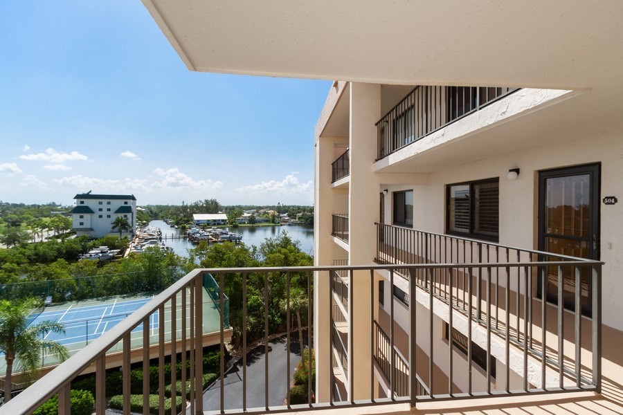 Real Estate Photography - 2835 Bonita Beach Rd, Bonita Springs, FL, 34134 - Tennis Court