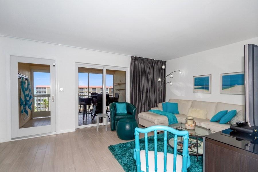 Real Estate Photography - 25750 Hickory, Unit PH 758-E, Bonita Springs, FL, 34134 - Living Room
