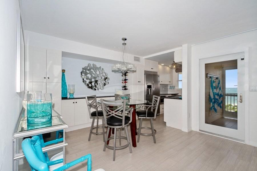 Real Estate Photography - 25750 Hickory, Unit PH 758-E, Bonita Springs, FL, 34134 - Dining Room