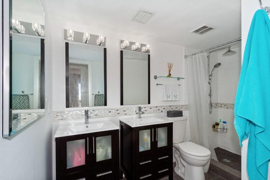 Real Estate Photography - 25750 Hickory, Unit PH 758-E, Bonita Springs, FL, 34134 - 2nd Bathroom