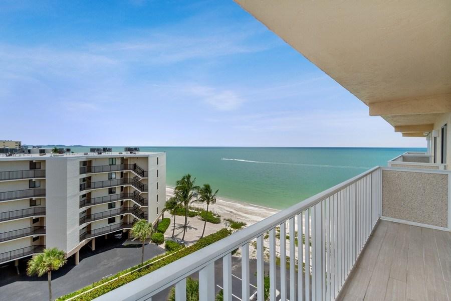 Real Estate Photography - 25750 Hickory, Unit PH 758-E, Bonita Springs, FL, 34134 - Balcony