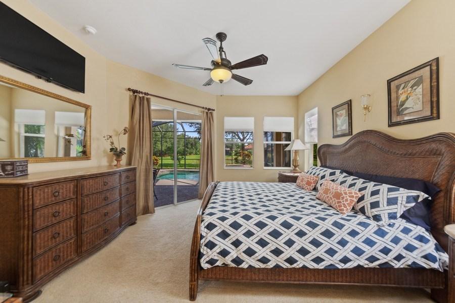 Real Estate Photography - 6061 Divot Ct, Naples, FL, 34113 - Master Bedroom