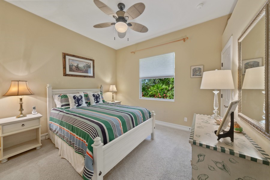 Real Estate Photography - 6061 Divot Ct, Naples, FL, 34113 - 2nd Bedroom