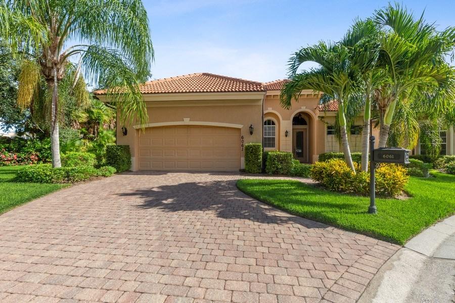 Real Estate Photography - 6061 Divot Ct, Naples, FL, 34113 - Front View