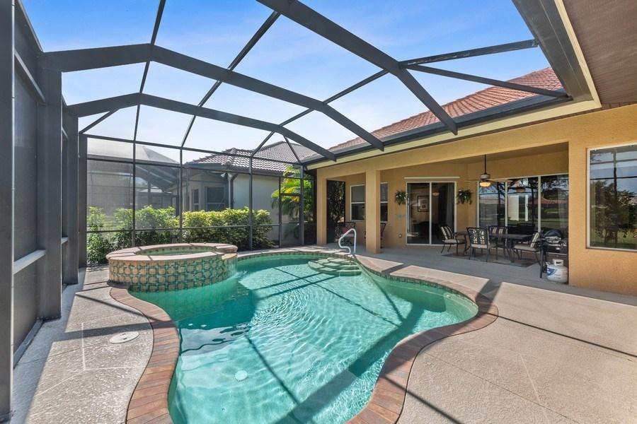 Real Estate Photography - 6061 Divot Ct, Naples, FL, 34113 - Lanai